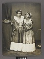 View Portrait Of Two Women in Dance Costume 1876 digital asset number 2