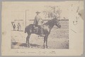 View Peruvian? Man (Owner of Estate) on Horseback; Group in Gateway (to Estate?) Behind Him n.d digital asset number 1