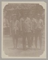 View General Hugh L. Scott and Non-Native Soldier with Two Men In Native Dress 1902 digital asset number 1