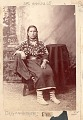 View Portrait of Mary, Young Woman, in Native Dress, Including Elk-Tooth Shirt n.d digital asset number 0