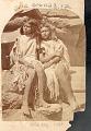 View Two Young Women, Won-Si-Vu and Ku-Ra-Tu, Both in Native Dress Near Grand Canyon digital asset: Two Young Women, Won-Si-Vu and Ku-Ra-Tu, Both in Native Dress Near Grand Canyon.