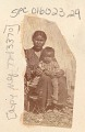 View Woman and Child, Both in Partial Native Dress, Outside Reed Lodge n.d digital asset number 0