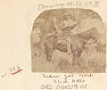 View Man, Scout for Survey, in Military Uniform, with Rifle and On Horseback 1875 digital asset number 0