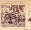 View Man, Scout for Survey, in Military Uniform and with Gun, Beside Horse 1875 digital asset number 0