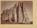 View View of South Side of Inscription Rock 1873 digital asset number 0