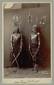 View Two Masked Medicine Men Called Gaun Mountain Spirit or Devil Dancers with Body Paint and Dance Costume to Scare the Eyes Straight n.d digital asset number 1