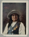 View Portrait of Chief Josh with Face Paint and Wearing Ornaments And Medals 1898 digital asset number 1