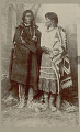 View Portrait of Man and Woman in Native Dress with Basket 1888 digital asset number 2
