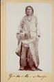 View Portrait of Ze-De-Ke Medicine Man, Wearing Blanket, Bead Necklace, and Leather Shoulder Bag 1882 digital asset number 1