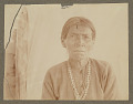 View Old Woman with Shell (?) and Turquoise (?) Necklaces 1898 digital asset number 1