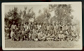 View Mr C. R. Franks, Pension Examiner, and Mr S. F. Stacher, Agency Superintendent, with Group of Old Scouts in Partial Native Dress (Served in Campaign Against Apaches, 1885-86) 1926 digital asset number 0