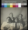 View Portrait of man and three women, Bureau of American Ethnology library personnel, 1897 digital asset number 2