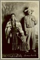 View Portrait of Navajo man with wife and daughter Copyright 05 AUG 1931 digital asset number 2