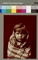 "View Portrait of young girl wearing blanket, possibly called ""Child"" Copyright 03 NOV 1904 digital asset number 2"