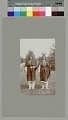 View Two women with water jars on heads near palm trees Copyright 12 FEB 1897 digital asset number 0