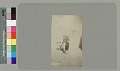 View Young woman holding water jar with three young boys outside adobe house Copyright 14 JUL 1894 digital asset number 0