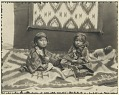 View Young boy and girl with blankets Copyright 29 SEP 1914 digital asset number 1