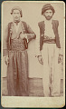 View Portrait of Two Men in Costume, Mountain Westonian? Students In College at Urimah (Orooimah), Persia n.d digital asset number 1