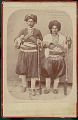 View Two Men in Costume with Gunbelts, Rifles, and Daggars n.d digital asset number 0