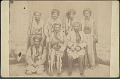 View Hasson or Hussod, Chief of Tercawan, West of Urimah (Oroomiah), Persia; his Uncle in Kurdish Costume; Two Uncles? n.d digital asset number 1