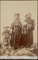 View Quechua Group of Two Women, Girl and Infant in Costume 1899 digital asset number 1