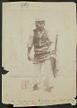 View Aymara Man in Warrior Costume with Spear, Sling and Rock 1899 digital asset number 0