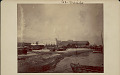 View View of Harbor Showing Two-Story Stucco Custom House, Dock, and Boats in Water n.d digital asset number 1