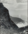 View View of Lampu from Soktsen (Tibet); Half-Frozen Rhododendrons In Foreground 1954 digital asset number 0
