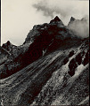 View View of China Karpo Ri Track Crossing Shale Slide at Lower Left 1954 digital asset number 1