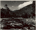 View View of River Between Dahung and Senchong; Aka Area, North; Khowa Area on Opposite Side 1954 digital asset number 0