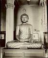 View Ceylonese Wooden Buddha n.d digital asset number 0