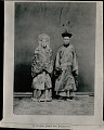 View Portrait of Bride and Groom in Ceremonial Costume digital asset: Portrait of Bride and Groom in Ceremonial Costume