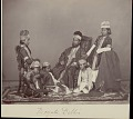 View Portrait of Mogul man and four boys 1862 digital asset number 0