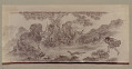 View Japanese Painting Depicting Men in Formal Costume, Hunting Fox with Bow and Set-Bow n.d digital asset number 0