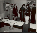 View Group of Men and Women Viewing Exhibit of Korean Art at National Gallery of Art 1957 digital asset number 1