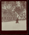View Woman in Costume, Walking to Cathedral 1896 digital asset number 0