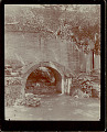 View Arched Brick Footbridge Beside Brick Wall 1896 digital asset number 1