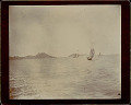 View View of Junks in Harbor; Macao? in Distance 1896 digital asset number 0