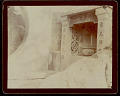 View Masonry Shrine at Temple with Calligraphic Carvings and Bowl with Incense? 1896 digital asset number 1