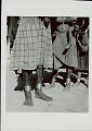 View Three Women in Costume, Two with Young Children, and Displaying Metal Ankle Bracelets 1965 digital asset number 0
