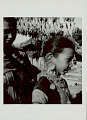 View Girl and Woman in Costume and with Ornaments Near Ping (Gallows- Like Wood Structure Decorated with Wheat for Fertility Feast) 1965 digital asset number 1