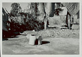 View Outdoor Mud Stove; Basket Tray Nearby 1965 digital asset number 1