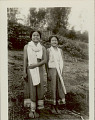 View Two Women in Costume digital asset: Two Women in Costume
