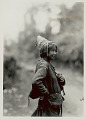 View Woman in Costume and with Beaded Headdress and Net Bag 1931 digital asset number 0