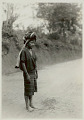 View Young Woman in Costume and Carrying Cloth Bag on Head 1931 digital asset number 1