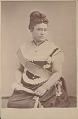 View Portrait of Queen Kapuolani in Royal Costume and with Ornaments n.d digital asset number 1