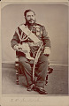 View Portrait of King David Kalakana in Royal Military Uniform And with Ornaments n.d digital asset number 0