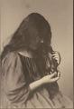 "View Portrait of Hawaiian girl, titled ""'Girlhood (profile)"" 1909 digital asset number 1"