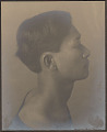 """View Portrait of Hawaiian boy titled """"The Athlete"""" (profile) 1909 digital asset number 0"""