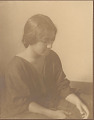"""View Portrait of """"French-Hawaiian"""" girl (profile) 1909 digital asset number 0"""
